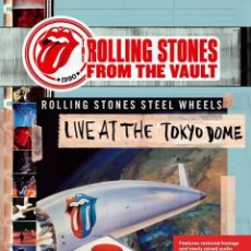 Vídeos y DVD Musicales: THE ROLLING STONES * DVD *FROM THE VAULT: LIVE AT THE TOKYO DOME 1990 * PRECINTADO. Lote 117352611