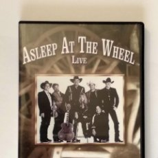 Vídeos y DVD Musicales: ASLEEP AT THE WHEEL - LIVE - WE KEEP ON RIDIN. ESTUCHE DVD. AÑO 2004. COUNTRY.. Lote 120860919