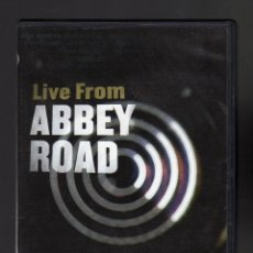 Vídeos y DVD Musicales: 2 DVD: LIVE FROM ABBEY ROAD · MAKING MUSIC HISTORY SERIES 1 · IDIOMA: INGLÉS · PESO: 128 GRAMOS. Lote 120896231