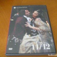 Vídeos y DVD Musicales: TEMPORADA OPERA LICEU BARCELONA DVD DE L' ANY 11 / 12 + FOLLETO INTERIOR. Lote 121242547