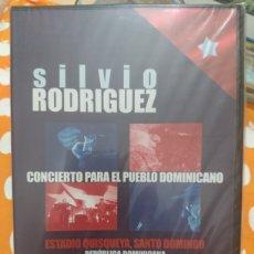 Vidéos y DVD Musicaux: SILVIO RODRÍGUEZ CONCIERTO PARA EL PUEBLO DOMINICANO REPÚBLICA DOMINICANA 30 DE.. . PRECINTADO. Lote 121307392