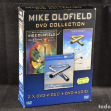 Vídeos y DVD Musicales: MIKE OLDFIELD - DVD COLLECTION - 2 DVD + DVD AUDIO . Lote 121756599