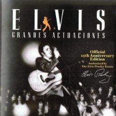 Vídeos y DVD Musicales: ELVIS PRESLEY GRANDES ACTUACIONES VOL. 2 . Lote 121874275