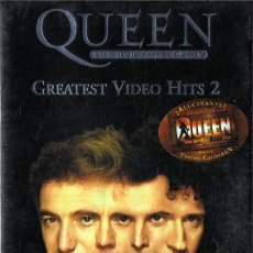 Vídeos y DVD Musicales: QUEEN GREATEST VIDEO HITS 2 ( 2 DVD). Lote 121874411