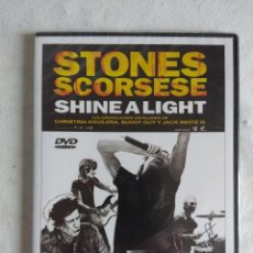 Vídeos y DVD Musicales: DVD/STONES SCORSESE/SHINE A LIGHT.. Lote 121945431