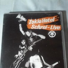 Vídeos y DVD Musicales: TOKIO HOTEL / SCHREI - LIVE (DVD ROCK). Lote 122019999