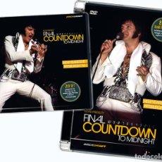 Vídeos y DVD Musicales: ELVIS PRESLEY - FINAL COUNTDOWN TO MIDNIGHT DVD & 2CD'S. Lote 122039055