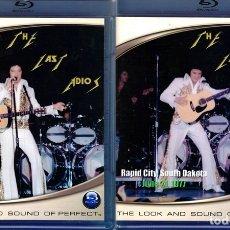 Vídeos y DVD Musicales: ELVIS PRESLEY - THE LAST ADIOS IN CONCERT OMAHA & RAPID CITY '77 (2 BLU-RAY). Lote 122040735