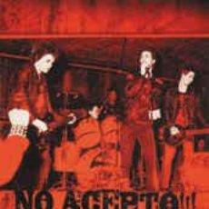 Vídeos y DVD Musicales: DVD NO ACEPTO, DEIZ AÑOS DE HARDCORE, PUNK, IRA Y CAOS. Lote 122267515