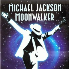 Vídeos y DVD Musicales: MICHAEL JACKSON ¨MOONWALKER¨ (DVD). Lote 122562131