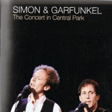 Vídeos y DVD Musicales: SIMON & GARFUNKEL THE CONCERT IN CENTRAL PARK . Lote 122562379