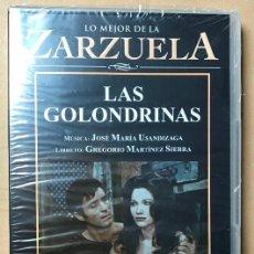 Vídeos y DVD Musicales: DVD LO MEJOR DE LA ZARZUELA DE PLANETA AGOSTINI NUEVO SIN ABRIR LAS GOLONDRINAS. Lote 122568931