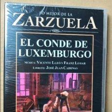 Vídeos y DVD Musicales: DVD LO MEJOR DE LA ZARZUELA DE PLANETA AGOSTINI NUEVO SIN ABRIR EL CONDE DE LUXEMBURGO. Lote 122569199