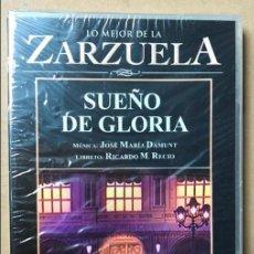 Video e DVD Musicali: DVD LO MEJOR DE LA ZARZUELA DE PLANETA AGOSTINI NUEVO SIN ABRIR SUEÑO DE GLORIA. Lote 122569375