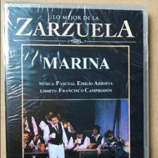 Vidéos y DVD Musicaux: DVD LO MEJOR DE LA ZARZUELA DE PLANETA AGOSTINI NUEVO SIN ABRIR MARINA. Lote 122569535