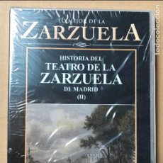 Vídeos y DVD Musicales: DVD LO MEJOR DE LA ZARZUELA DE PLANETA AGOSTINI NUEVO SIN ABRIR HISTORIA DEL TEATRO DE LA ZARZUELA D. Lote 122570423