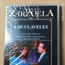 Vidéos y DVD Musicaux: DVD LO MEJOR DE LA ZARZUELA DE PLANETA AGOSTINI NUEVO SIN ABRIR LOS CLAVELES. Lote 122572243