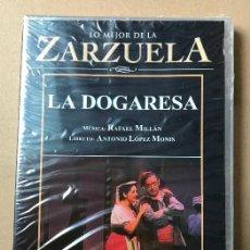 Vidéos y DVD Musicaux: DVD LO MEJOR DE LA ZARZUELA DE PLANETA AGOSTINI NUEVO SIN ABRIR LA DOGARESA. Lote 122573371