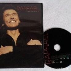 Vídeos e DVD Musicais: RAPHAEL. GIRA CERCA DE TI. 35 CANCIONES + ENTREVISTA. DVD. TEATRO GRAN VIA DE MADRID. 2007. Lote 122596339
