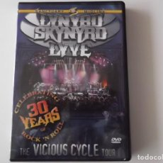 Vídeos y DVD Musicales: LYNYRD SKYNYRD LIVE - THE VICIOUS CYCLE TOUR. Lote 122597759