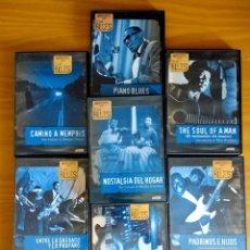 Vídeos y DVD Musicales: LA HISTORIA DEL BLUES.PRODUCIDA POR MARTIN SCORSESE.7 DVD.DIVISA.2013.ALEMANIA-USA. Lote 122643791