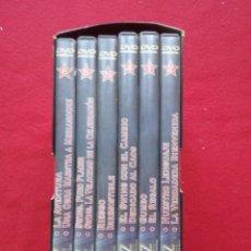 Vídeos y DVD Musicales: TUBAL 6 DVD JAZZ LA HISTORIA. KEN BURNS COLECCION COMPLETA EN ESTUCHE 900 GRS. Lote 150837744