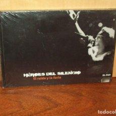 Vídeos y DVD Musicales: HEROES DEL SILENCIO - EL RUIDO Y LA FURIA - DVD + LIBRETO NUEVO PRECINTADO EL PAIS. Lote 123356735