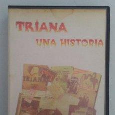 Vídeos y DVD Musicales: TRIANA UNA HISTORIA VHS 1995. Lote 109479395