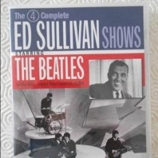 Vídeos y DVD Musicales: THE BEATLES. THE COMPLETE ED SULLIVAN SHOWS. DOBLE DVD. 250 MINUTOS. Lote 123581939