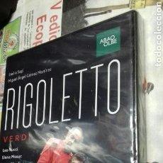 Vídeos y DVD Musicales: RIGOLETTO.VERDI.PRECINTADO. Lote 124084980