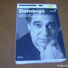 Vídeos y DVD Musicales: PLACIDO DOMINGO : IN CONCERT 3 DVD RARO DESCATALOGADO EXCELENTE. Lote 124199335