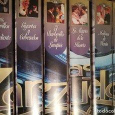 Vidéos y DVD Musicaux: ZARZUELAS VHS. Lote 124430211