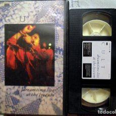 Vídeos y DVD Musicales: DVD VHS - THE CULT - DREAMTIME LIVE AT THE LYCEUM . AÑO 1984. Lote 124467011