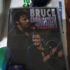 Vídeos y DVD Musicales: BRUCE SPRINGSTEEN IN CONCERT DVD MTV UNPLUGGED. Lote 124678096