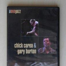 Vídeos y DVD Musicales: CHICK COREA & GARY BURTON. LIVE AT THE MUNICH PHILHARMONIE. (DVD) - CHICK COREA & GARY BURTON. Lote 126336026