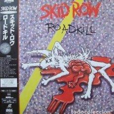 Video e DVD Musicali: OFERTA LASERDISC - SKID ROW - ROADKILL - JAPON. Lote 126993831