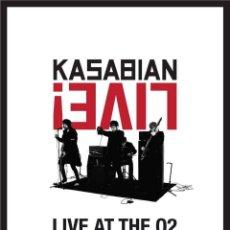 Vídeos y DVD Musicales: KASABIAN * DVD + CD * LIVE! LIVE AT THE O2 LONDON 15/12/2011 * LTD FUNDA CARTÓN!! * PRECINTADO!!. Lote 127687107
