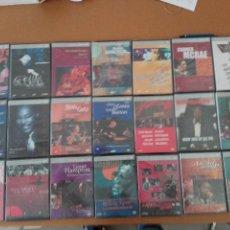 Vídeos y DVD Musicales: LOS GRANDES DEL JAZZ EN DVD - 21 DVD SIN ESTRENAR (MIRAR FOTOS). Lote 127939759