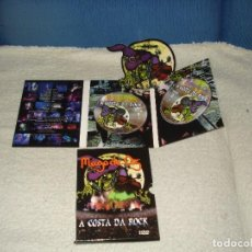 Vídeos y DVD Musicales: MAGO DE OZ- A COSTA DA ROCK DOBLE DVD DIGIPACK. Lote 135939006