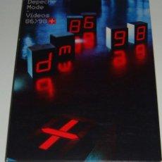 Vídeos y DVD Musicales: DVD - DEPECHE MODE - 86-98+ - DOBLE DVD - DEPECHE MODE. Lote 128407391
