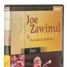 Vídeos y DVD Musicales: JOE ZAWINUL & THE ZAWINUL SYNDICATE: LIVE AT THE MUNICH PHILARMONIE, 1989 (TDK). Lote 128417775