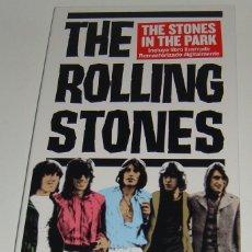 Vídeos y DVD Musicales: DVD + LIBRETO - ROLLING STONES - THE STONES IN THE PARK - ROLLING STONES. Lote 128852703
