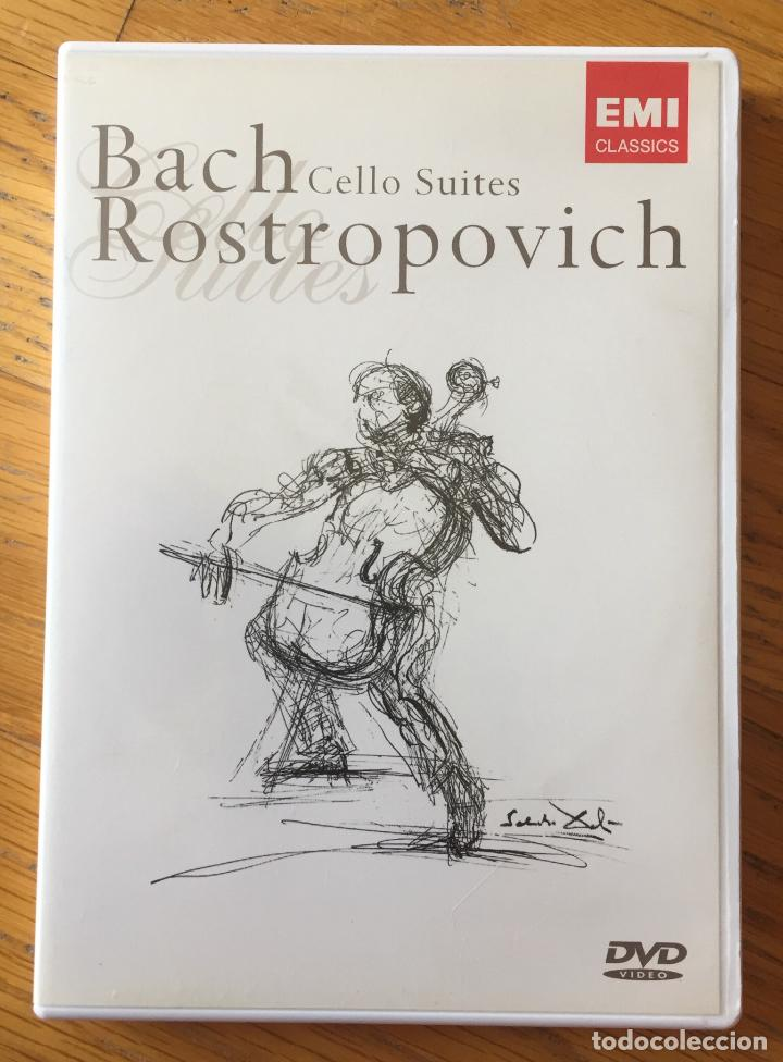 Image result for rostropovich bach cello suites DVD