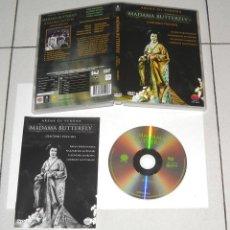 Vídeos y DVD Musicales: DVD MADAMA BUTTERFLY.GIACOMO PUCCINI.ARENA DI VERONA-INCLUYE LIBRETO. Lote 130219531