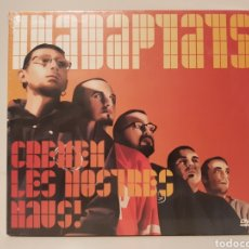Vídeos y DVD Musicales: INADAPTATS. CREMEM LES NOSTRES NAUS.(DVD CON SU PRECINTO)CONTIENE 23 TEMAS.. Lote 130574967