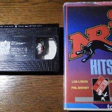 Vídeos y DVD Musicales: VHS NRJ HITS 2. MUY RARO.. Lote 130635990