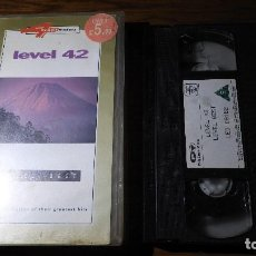 Vídeos y DVD Musicales: VHS LEVEL 42,LEVEL BEST.. Lote 130636702