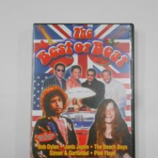 Vídeos y DVD Musicales: THE BEST OF BEAT. BOB DYLAN. JANIS JOPLIN. PINK FLOYD. THE BEACH BOYS... DVD. TDKV19. Lote 130712449