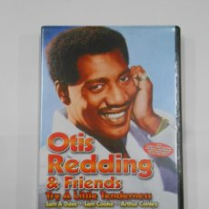 Vídeos y DVD Musicales: OTTIS REDDING & FRIENDS. TRY A LITTLE TENDERNESS. SAM & DAVE. SAM COOKE. ATHUR CONLEY. DVD. TDKV19. Lote 130712879