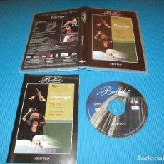 Vídeos y DVD Musicales: CLAVIGO - DVD - OBRAS MAESTRAS DEL BALLET - ROLAND PETIT - BALLET DE L'OPERA NATIONAL DE PARIS. Lote 130986056